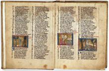 Roman de la rose (handschrift, vijftiende eeuw) [Foto: Koninklijke Bibliotheek Den Haag]