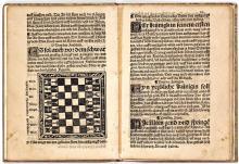 Jakob Mennel, Schachtzabel Spiel (ca. 1520)