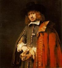 Rembrandt, Jan Six (1654) [collectie Rijksmuseum Amsterdam]