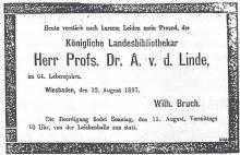 Wiesbadener Tagblatt, 12 augustus 1897