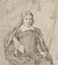Jan van der Heyden (tekening, 1661) [Collectie: Stadsarchief Amsterdam]