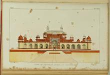 Graf van keizer Akbar, in: W.H. Sleeman, Rambles and recollections of an Indian official (1844) (Koninklijke Bibliotheek Den Haag, aanvraagnummer: 92 G 11-12, deel 2, tegenover p. 38)