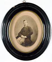 Portret van P.A.S. van Limburg Brouwer (Koninklijke Bibliotheek Den Haag, aanvraagnummer: Meub. Inv. 44)