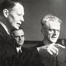 Meindert Niemeijer (links) (1946)
