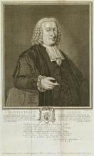 Portretgravure van C.G. Saxe (Koninklijke Bibliotheek Den Haag, aanvraagnummer: KW 125 J 1)