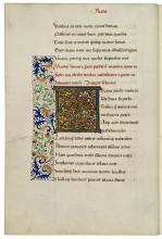 Vergilius, Opera omnia (handschrift, vijftiende eeuw) [Foto: Koninklijke Bibliotheek Den Haag]