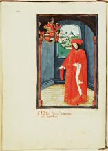 Status et amorial de la Toison d'Or (handschrift, vijftiende eeuw) [Foto: Koninklijke Bibliotheek Den Haag]