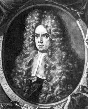 Petrus Schenk, portret van Nicolaes Witsen (1701)