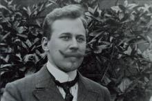 Portret van J.J. van der Harst